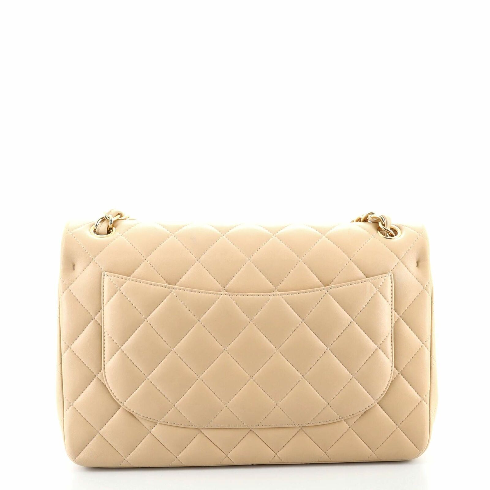 Chanel Classic Double Flap Bag Quilted Lambskin J… - image 3