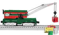 Lionel North Pole Central Crane Car O Ga Train Man Operating 6-29303 Bt