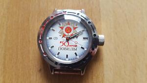 Vostok Uhr,amfibia,21 Steine, Automatik, Wasserdich 200m