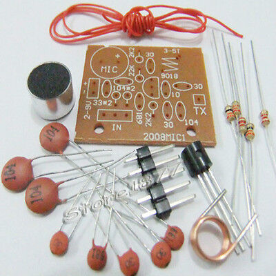 DIY Electronic Learning Kit Wireless Microphone DIY PCB New