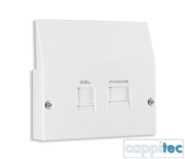 adsl broadband face plate splitter for nte5 bt openreach masteradsl broadband face plate splitter for nte5 bt openreach master socket internet
