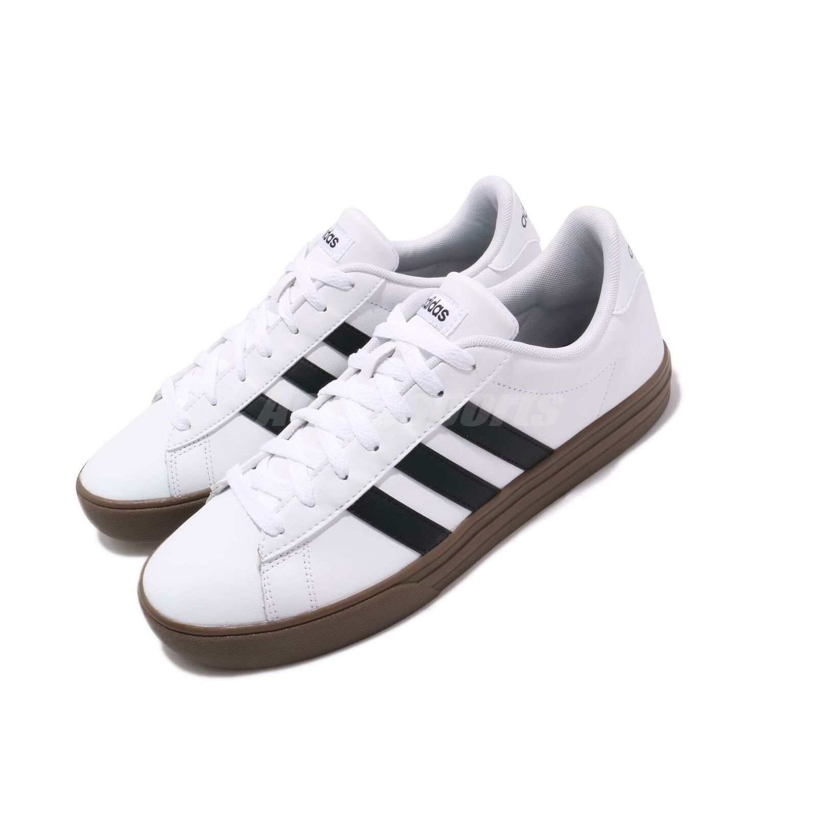 Adidas Daily 2.0 White Black Gum Men Casual Lifestyle shoes Sneakers F34469