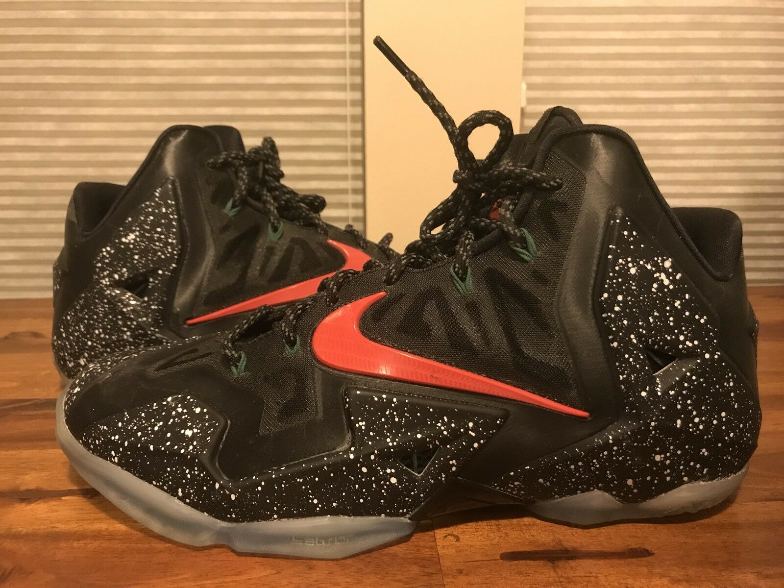 Lebron 11 NikeID Custom Shoes Sz 12 New shoes for men and women, limited time discount