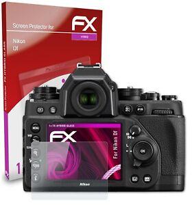 atFoliX Verre film protecteur pour Nikon Df 9H Hybride-Verre