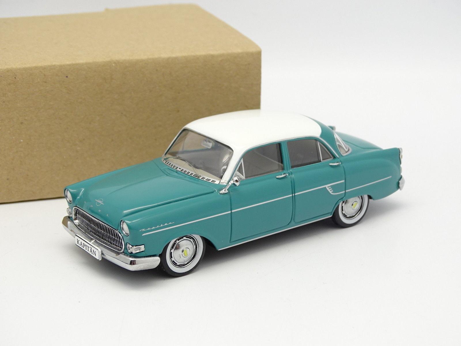 Schuco Schuco Schuco SB 1 43 - Opel Kapitan 56 blue 9559ae