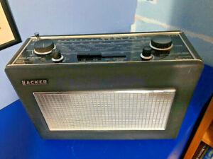 Vintage Hacker Sovereign II model RP25A MW/LW/VHF portable transistor radio