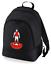Football-TEAM-KIT-COLOURS-Arsenal-Supporter-unisex-backpack-rucksack-bag miniatuur 1