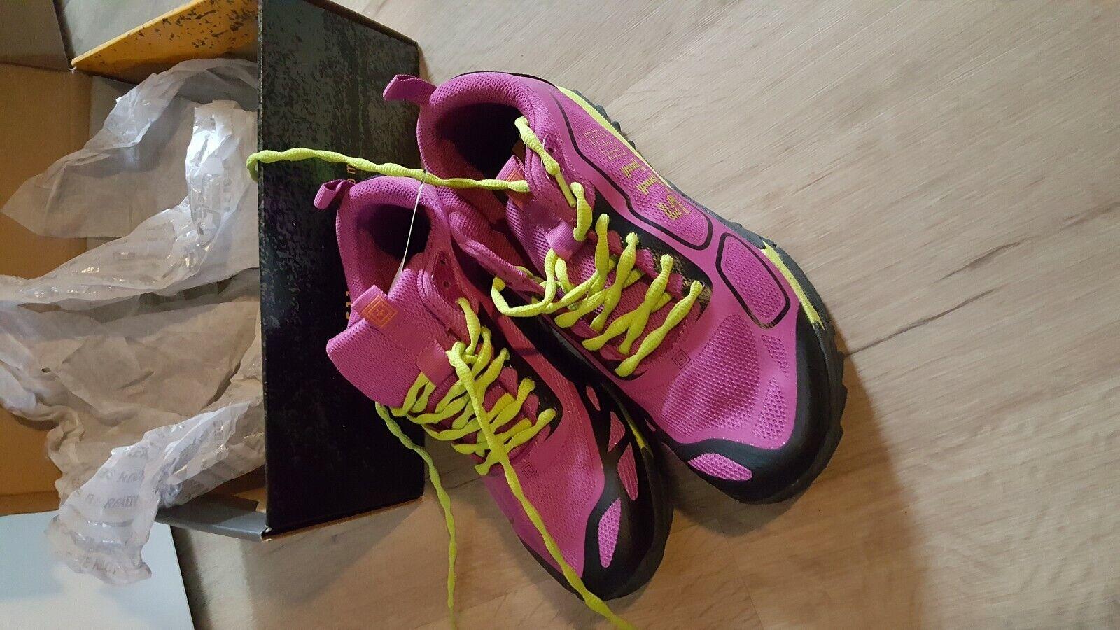 Turnschuhe Schuhe Fitness 5.11 Tactical DaSie Fuchsia Schnürung 40 Neu