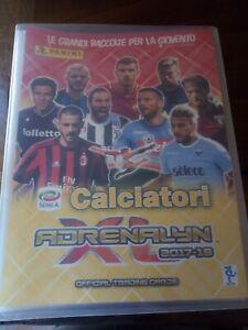 Raccoglitore Album Calciatori Adrenalyn Xl 2017 2018 18 Vuoto Ottimo Ebay