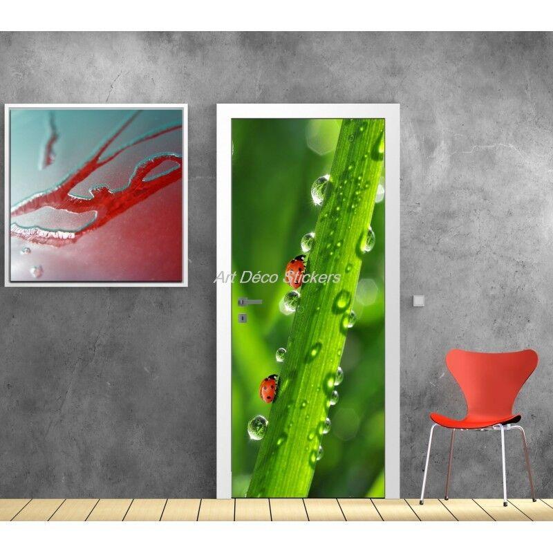 Poster Poster Formato Porta Decocrazione Coccinelle 521 Art Déco Adesivi