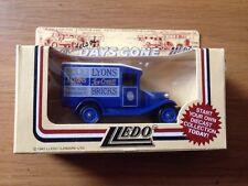 1983 Lyons Ice Cream Bricks Truck, Models Of Days Gone By LLedo MIB