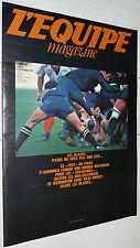 EQUIPE MAGAZINE N°88 1981 RUGBY ALL BLACKS NZ GYM CHINE HOCKEY USA ULM FREQUELIN