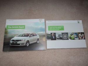 Skoda Rapid Incl S  SE  Elegance  Brochure Pack  2013   Mint - OLDHAM, Greater Manchester, United Kingdom - Skoda Rapid Incl S  SE  Elegance  Brochure Pack  2013   Mint - OLDHAM, Greater Manchester, United Kingdom