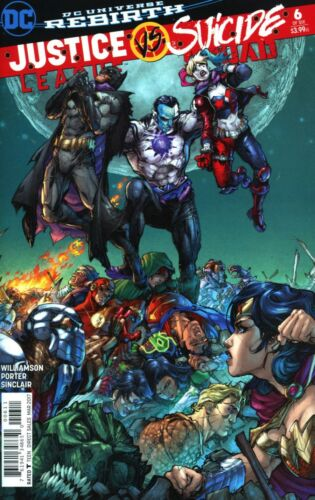 REBIRTH DC COMICS 1//25//17 JUSTICE LEAGUE SUICIDE SQUAD #6 OF 6