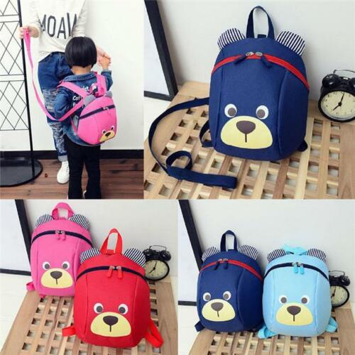 Baby Kid Toddler Keeper Walking Safety Harness Backpack Leash Strap Fancy Bag FI