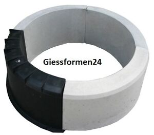 eine schalungsform beton gips giessformen f r garten randstein rundbogen top ebay. Black Bedroom Furniture Sets. Home Design Ideas