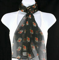Red Cross Bibles Womens Christian Religious Gift Scarfs Ladies Dress Scarves