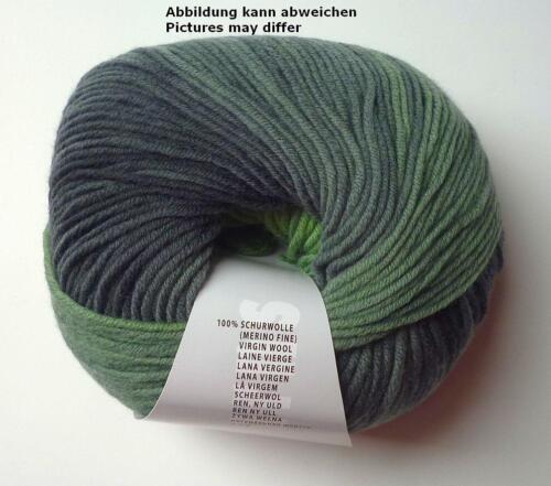 Lang Yarns Merino color 180m//100g Farbverlaufsgarn Fb.17