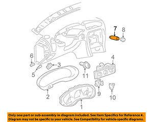 image is loading oldsmobile-gm-oem-99-04-alero-hazard-warning-