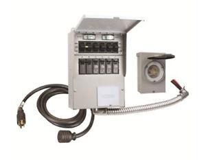 reliance pro tran 2 306crk manual transfer switch kit ebay rh ebay com Inverter Automatic Transfer Switch 30 Volt DC Transfer Switch