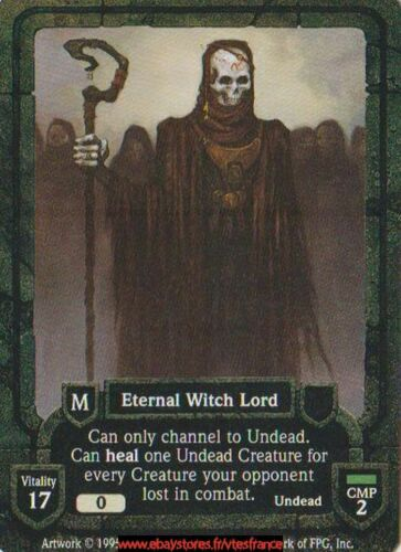 Revised Eternal Witch Lord Guardians CCG ENG