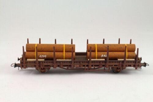 Beni di caricamento Bauer h01001 tubi di ferro 2 pezzi rinfusa traccia h0 1:87
