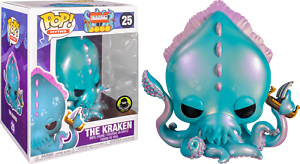 MYTHS-The-Kraken-Funko-Pop-Vinyl-New-in-Mint-Box-Protector