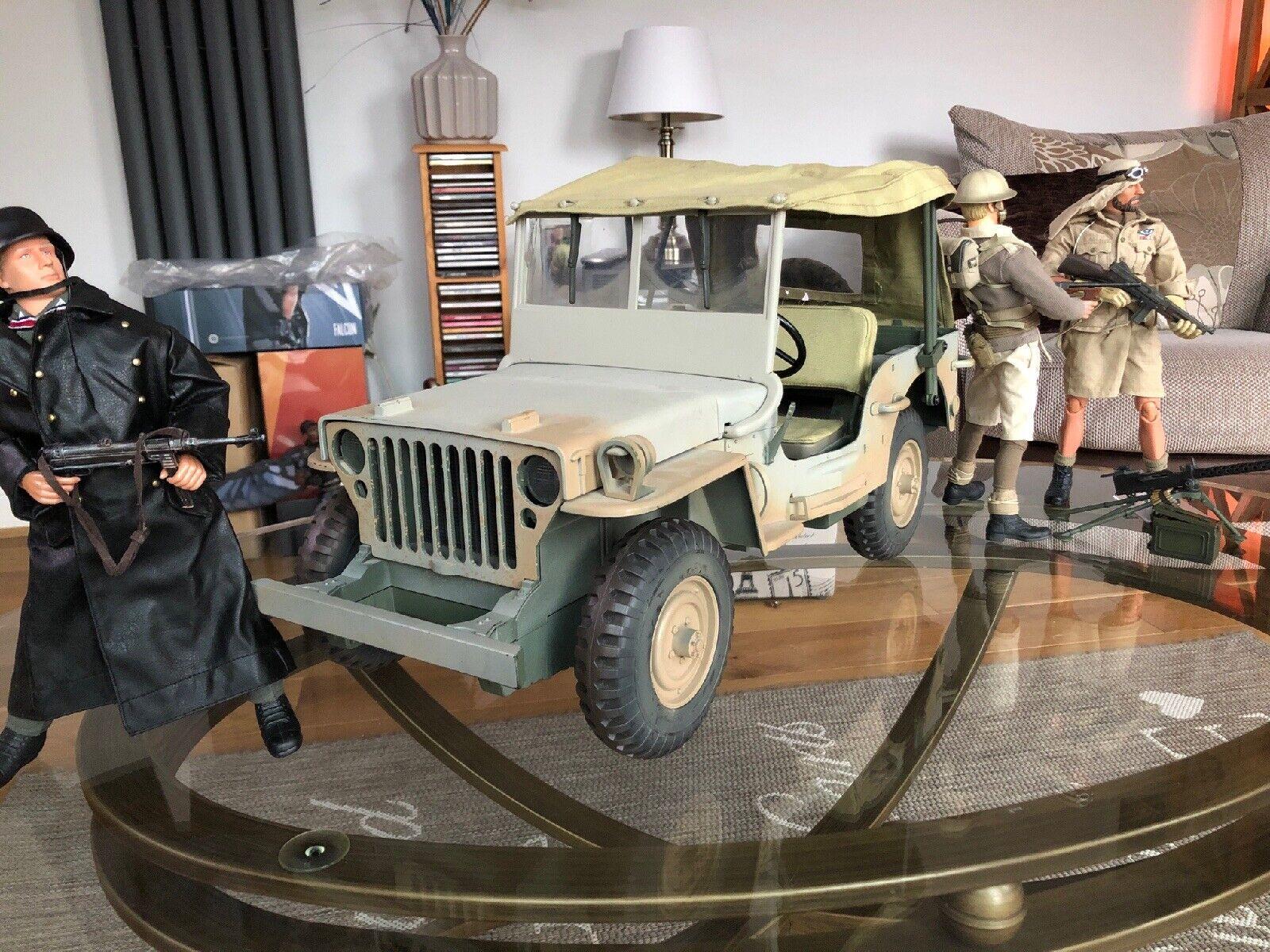 Dragon Bbi 1 6 Willys 4x4 Jeep Truck 21st Century Toys