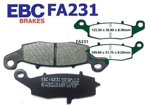 EBC Bremsbeläge FA231 VORN Rechts Suzuki DL 650 AK7//AK8//AK9 V-Strom ABS 07-10