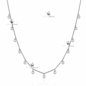 18K-WHITE-GOLD-GP-MADE-WITH-SWAROVSKI-CRYSTAL-CHAIN-NECKLACE