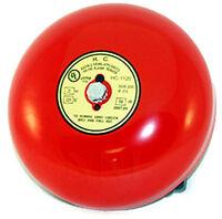 6 Fire Alarm Bell (gong) 24 Volt Dc, 98db Ul