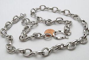 Humorvoll Reif-design - Knotenkette Handarbeit Antik Style - 999 Feinsilber Rhodiniert