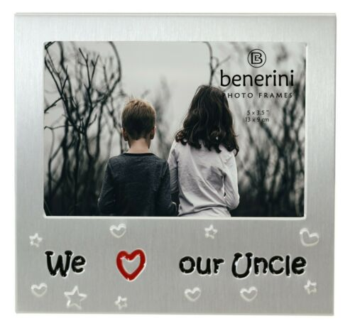 We Love Our Uncle Photo Picture Frame Birthday Christmas Fathers Day Gifts Idea