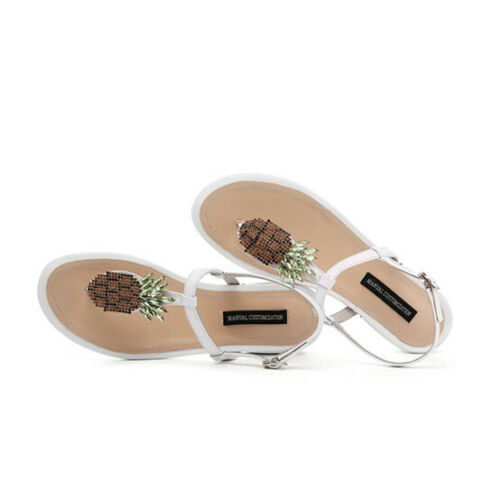 Details about  /Fashion Flip Flops Flats Sandals Women/'s Strawberry Summer Shoes Slipper Loafers