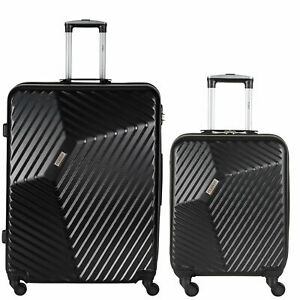 Flight-Knight-Lightweight-4-Wheel-Hard-Case-Suitcases-Large-29-034-Cabin-21-034-AR