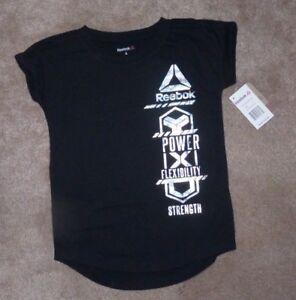 Reebok Girls Ss T-Shirts