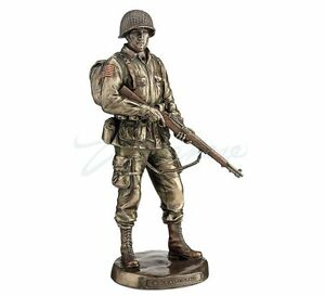 US Army Soldier- Honor And Courage Statue Sculpture ...
