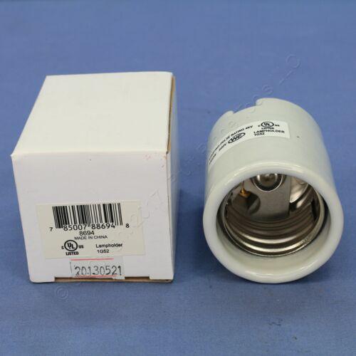 P/&S 4KV Mogul Base Light Socket Porcelain Keyless 1-Pole Lampholder 1500W 8694