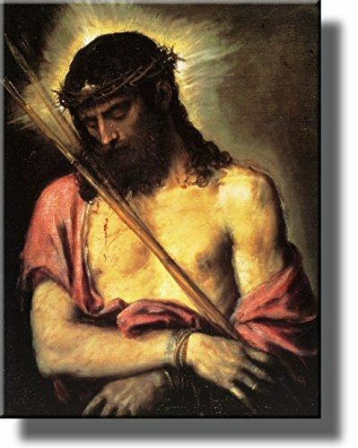 Jesus Christ by Titian Wall Art Picture on Stretched Canvas Ready to Hang!