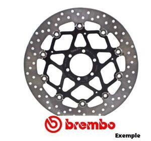 0c2d986305139 Détails sur Disque frein moto Arrière BREMBO rond KTM Sting 125 1997 - 1998