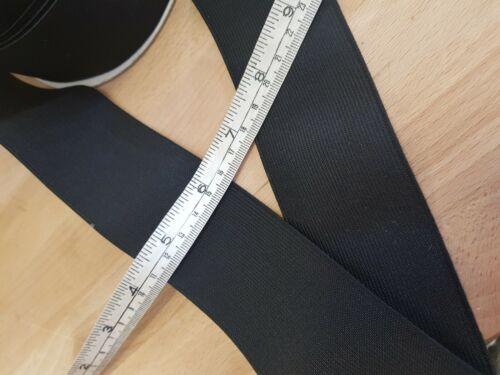 Black Loom Elastic 3.5cm//1.5in Wide