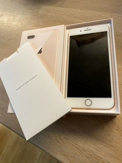 iPhone 8 Plus, 256 GB, guld, God, iPhone 8 plus sælges…