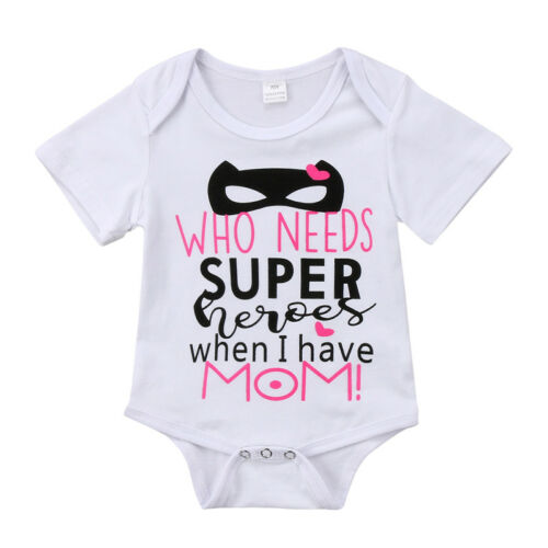 Newborn Infant Baby Outfit Boy Girl Cartoon Bodysuit Romper Jumpsuit Clothes Lot