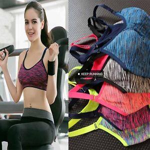 Women-Yoga-Fitness-Stretch-Tank-Top-Seamless-Racerback-Padded-Sports-Bra