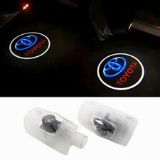 2x Car Door Welcome Lamp Logo Projector Light For Corolla Prius Tundra Sienna
