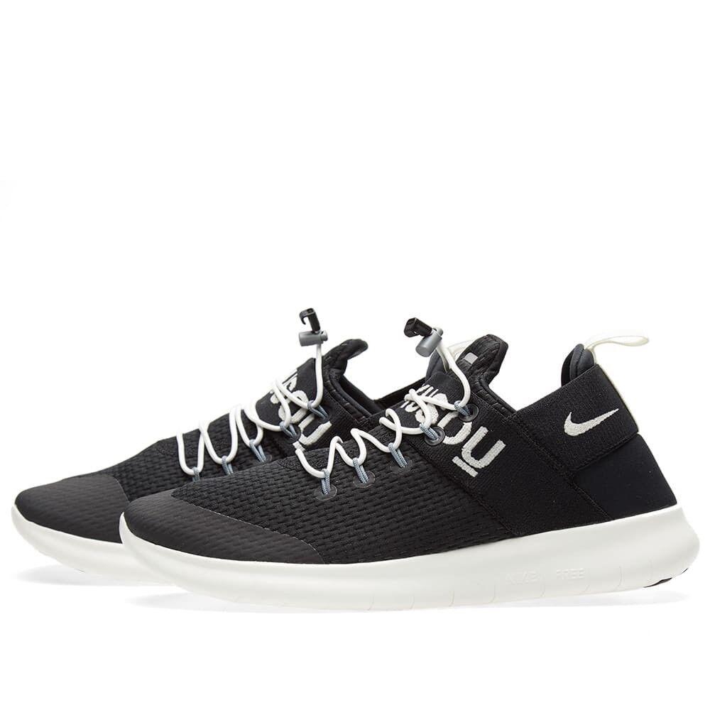 Nike x gyakusou run free run gyakusou Commuter 2018 nikelab CMTR negro blanco 904732-001 SZ 14 Wild Casual Shoes d1b1ec