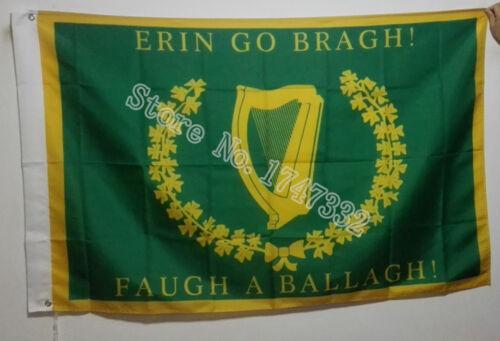 8th AL Irish Brigade Regiment Historical Flag
