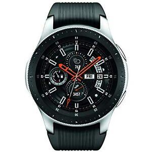 SAMSUNG Galaxy Watch SM-R800 (46mm, GPS, Bluetooth) – Silver/Black- Grade B+