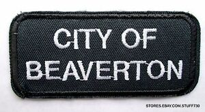 CITY-OF-BEAVERTON-OREGON-SEW-ON-PATCH-UNIFORM-SHIRT-ADVERTISING-3-1-2-034-x-1-1-2
