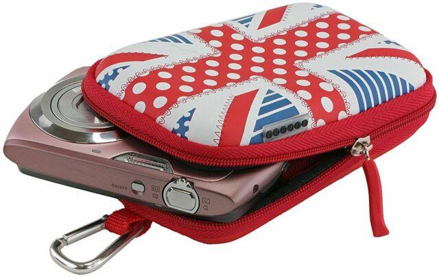 UK Stock Lowepro Slider 10 Compact Camera Case Red